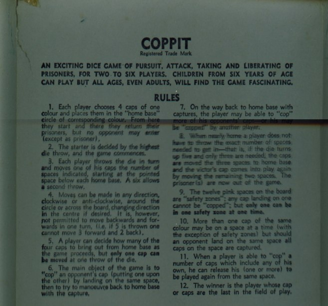 Coppit by Spear's Games