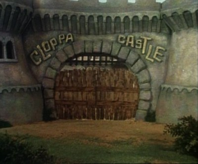 Cloppa Castle as it was
