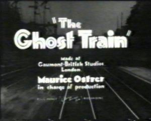 The Ghost Train - story page