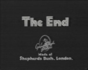 film end credits