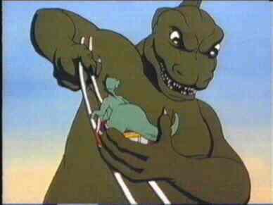 Little Gems Toms Midnight Garden Godzilla The Riddlers