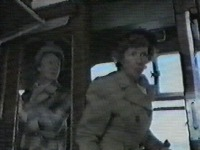 Second woman on train