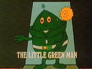 The Little Green Man and Zoom Zoom