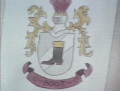 Boots's Coat of Arms