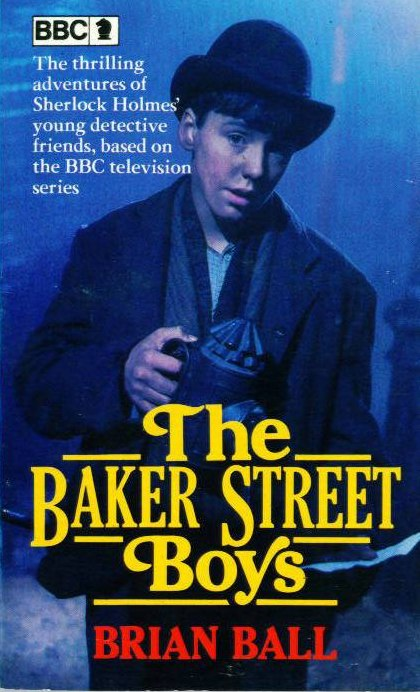 The Baker Street Boys book cover front